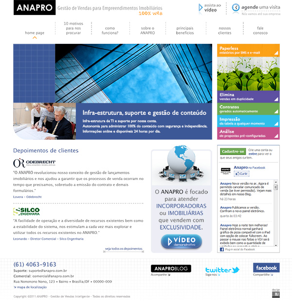 Website Anapro | Web Design
