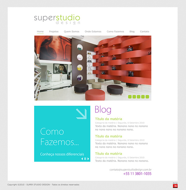 Website Super Studio Design | Web Design