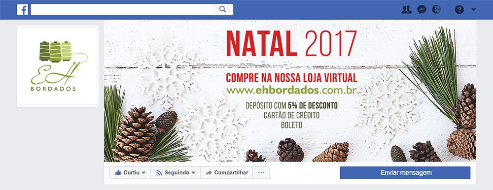Criação de imagem de capa para Facebook