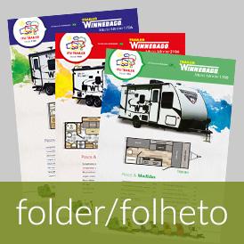Folder, flyer, panfleto, catálogo, anúncio