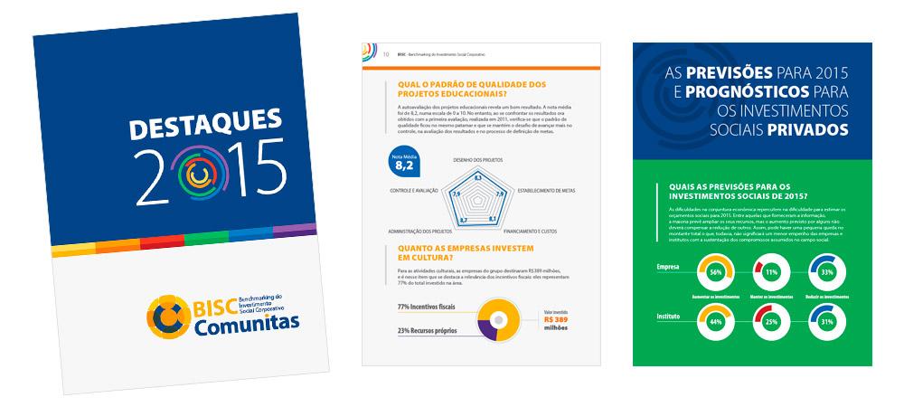 Diagramação: BISC Comunitas - Destaques 2015