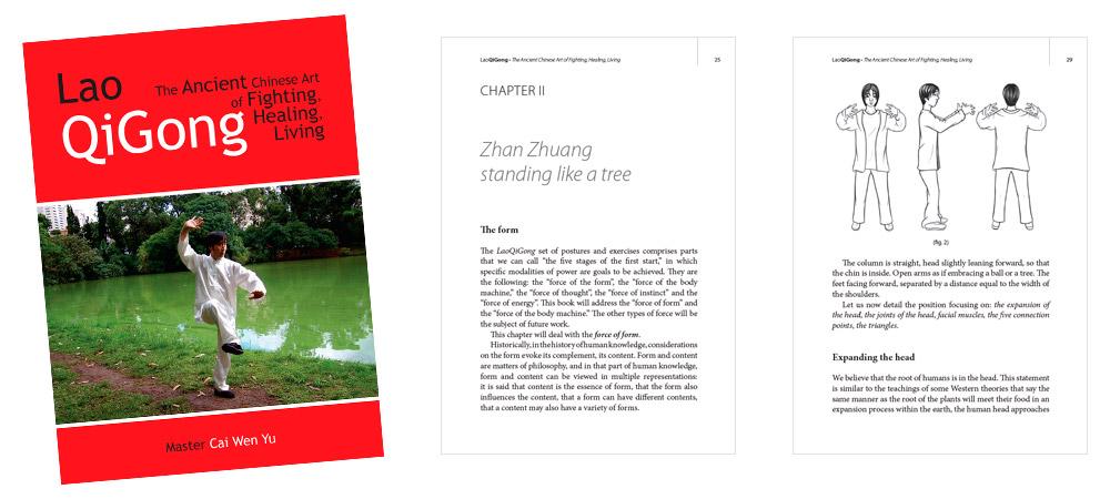 Publicação: Lao QiGong - Master Cai Wen Yu - Versão em Inglês