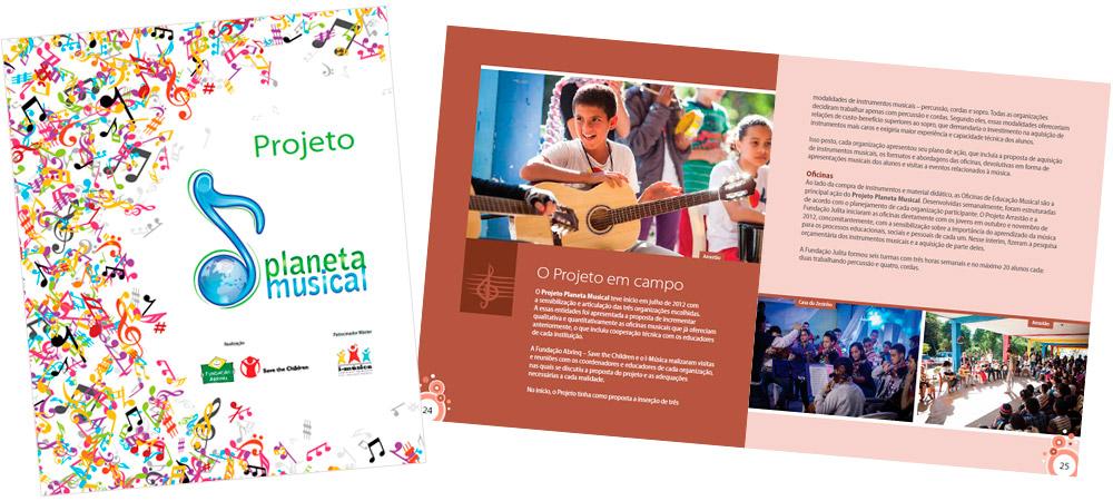 Diagramação: Projeto Planeta Musical - Fundação Abrinq