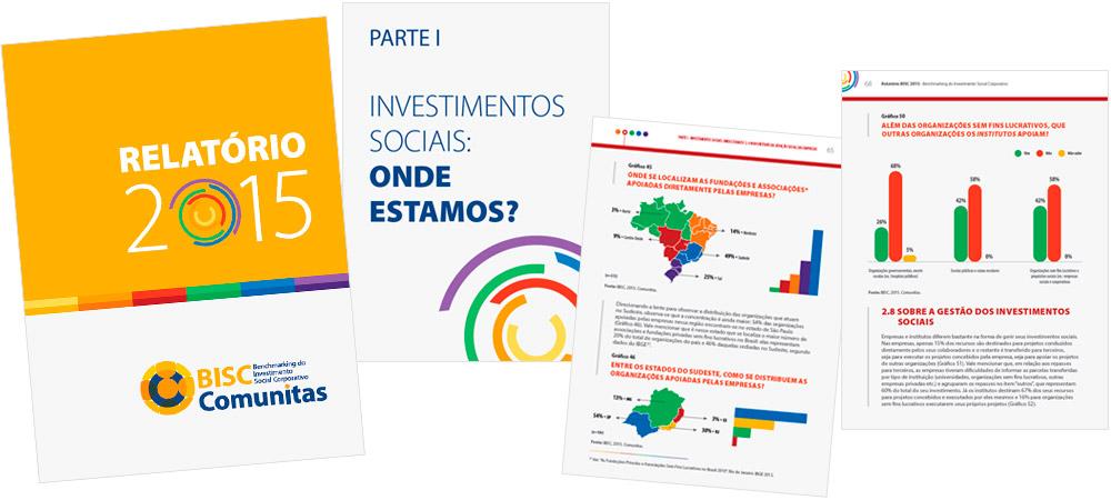 Diagramação: BISC Comunitas - Relatório 2015