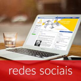 Redes sociais, capa e banners