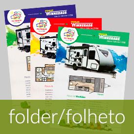 Criação de folder, folheto, panfleto, flyer e anúncio